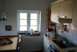 Küche mit viel Nordseelicht