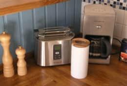 Viele Küchenutensilien