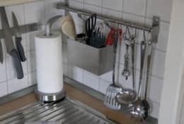 Küche mit guter Ausstattung