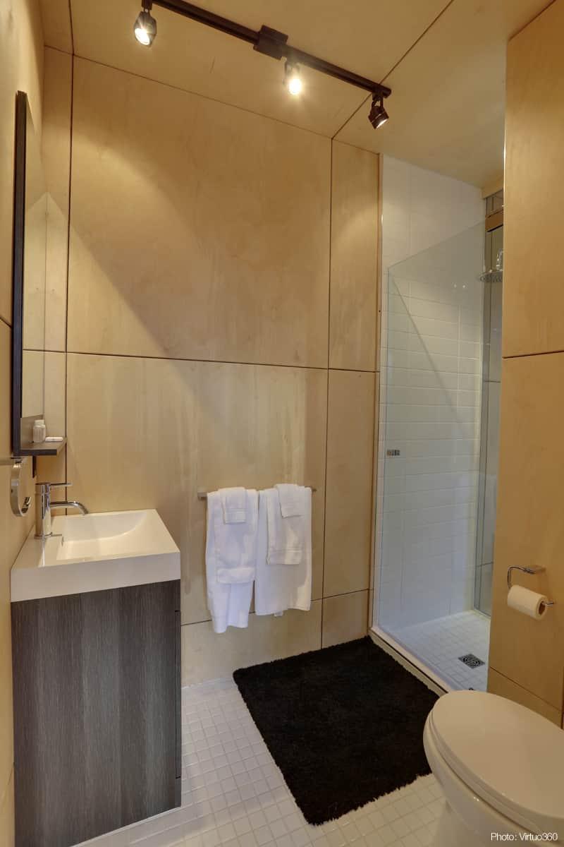 Domaine kabin sutton for Fumer dans la salle de bain