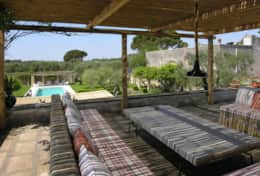 Casino Pisanelli MH - furnished terrace -Ruffano - Salento
