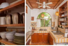 complete kitchen in villa Rio