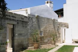 Calma Guest House - view from the main garden - Muro Leccese - Salento