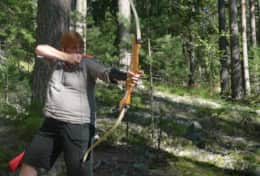 K43 Stewart Cottage - You can take archery lessons and pretend to be Robin Hood in the forest