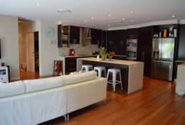SeaChange Kitchen & Living Area