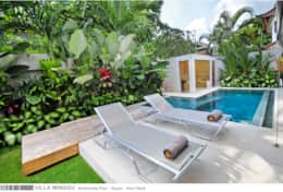 Villa Minggu - Swimming Pool - Sauna - Pool Deck
