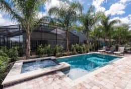 Exclusive Private Villas, 6 Bedroom Comfortable Villa In Orlando (ENC009) - Pool2