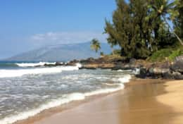 Charlie Young Beach...walk there in minutes from Maui Banyan Resort to see this classic Maui scene