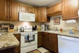 large granite kitchen with all appliances