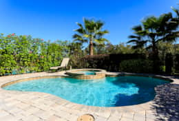 Exclusive Private Villas, 5 Bedroom Classy Vacation Home in Florida (E191) - Pool-1