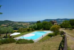 Il Rospo private pool with a view