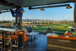 Minutes to Top Golf