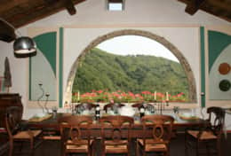 Villa Lavanda Dining & Great Window