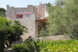 Casa Eolia - view of the villa - Castro Marina