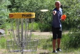 Frisbee Golf Course at Regional Park