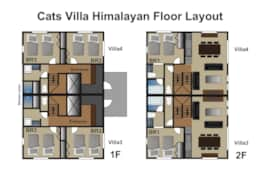 Cats Villa34 layout