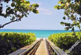Jupiter Beach is 5 Minutes from Property