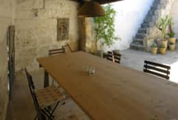 Santi Medici - outdoor furnished area - Depressa di Tricase - Salento