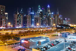 Dubai City View-Marina and JLT