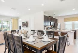 Exclusive Private Villas, 6 Bedroom Luxury Florida Villa In Encore Club (ENC189) - Dining1