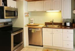 Unit 3: All new stainless steel appliances in the kitchen
