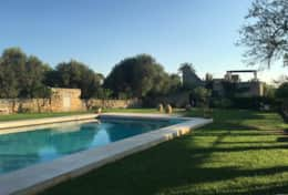 Le More - pool and house - Sponagno - Salentio