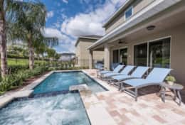 Exclusive Private Villas, 6 Bedroom Luxury Encore Vacation Rental (ENC192) - Pool4