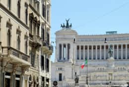 Piazza Venezia and the Vittoriano monument