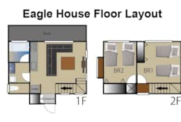 Eagle house floor layout