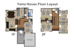 Yama House layout