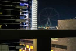 Dubai Eye View from Balcony
