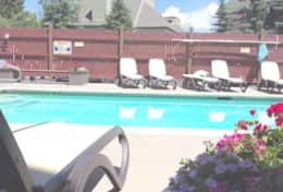 snowcrest pool heated and open year round 4 to 10 in winter
