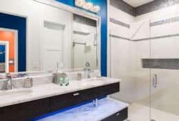 Exclusive Private Villas, 12 Bedroom Villa in Reunion Resort (E312) - Master Bath 2