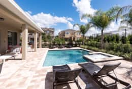Exclusive Private Villas, 8 Bedroom Luxury Pool Home In Encore Resort (ENC116) - Pool2