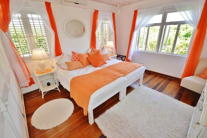 Second Bedroom - Orange Room