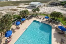 Fort-Morgan-Gulf-Shores-Beach-Rental-pool-beach-view