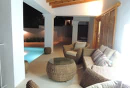 Exclusive Private Villas, Modern Island Villa With Amazing Sea & Sunset Views (SJP012)