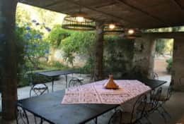 Le More - outdoor dining area - Spongano - Salento