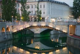 The capital of Ljubljana, only 35 minutes by car or train.