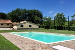 Pool and house, privacy near Orvieto