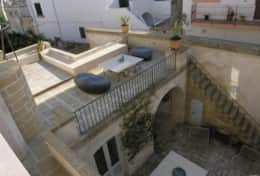 Casa del Palmarancio - view from the master bedroom upstairs - - Gagliano del Capo - Salento