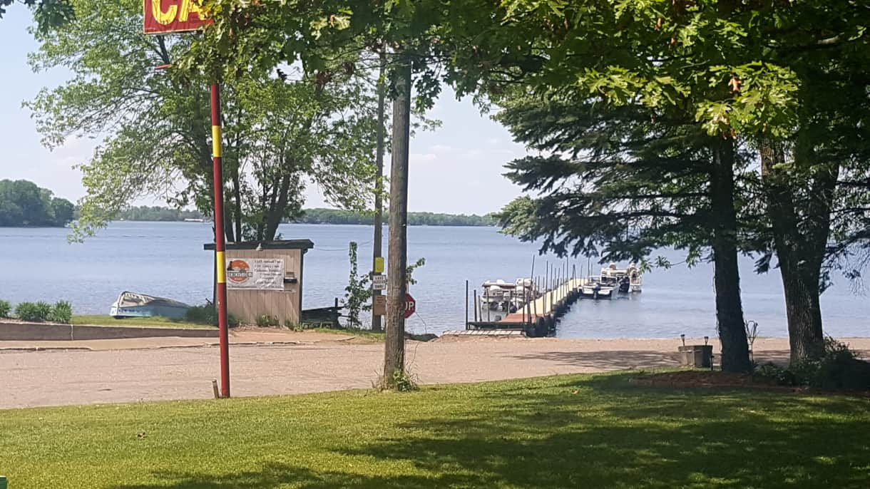 Your view of Mille Lacs from your porch