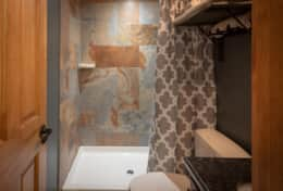 completely renovated upscale  bathrooms