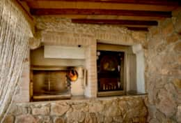 Casa Pierantonio, barbecue and pizza oven near the pool
