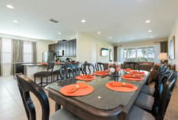 Exclusive Private Villas, 6 Bedroom Luxury Family Vacation Home (ENC102) - Dining1