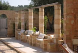 Masseria Ugento - courtyard - sitting area - Ugento - Salento