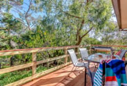 New Tranquil Back BBQ Deck Yia Yia's House  Good House Holiday Rentals