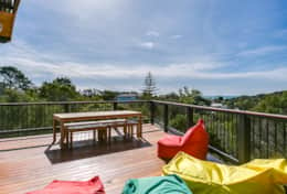 L'Ciabot Rye Deck With a View  - Good House Holiday Rentals Mornington Peninsula