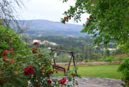 Garden, View from Villa Vaggelio