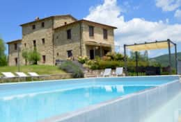 Luxury villa Badia in Umbria